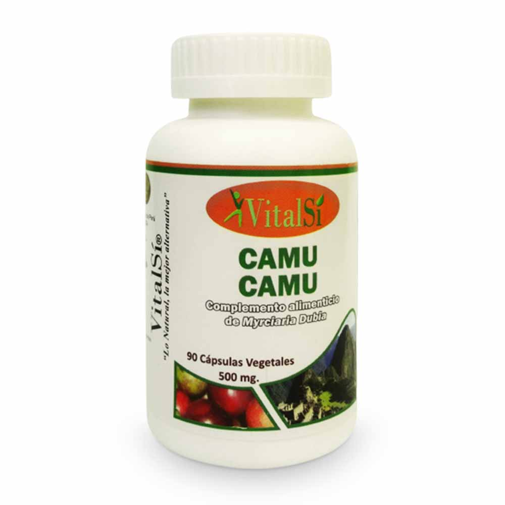 VitalSí® CAMU CAMU (Myrciaria Dubia)- Barco de 90 Cápsulas