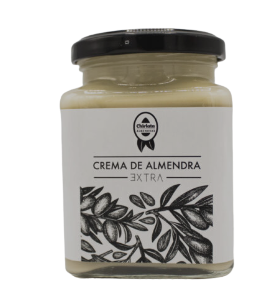 Chirlata Almond Butter with Creamy and Soft Texture - 100% Natural - Almond Butter Smooth - Vegetarian Friendly - No palm fat - No trans fat - No added sugar or salt - 250gr