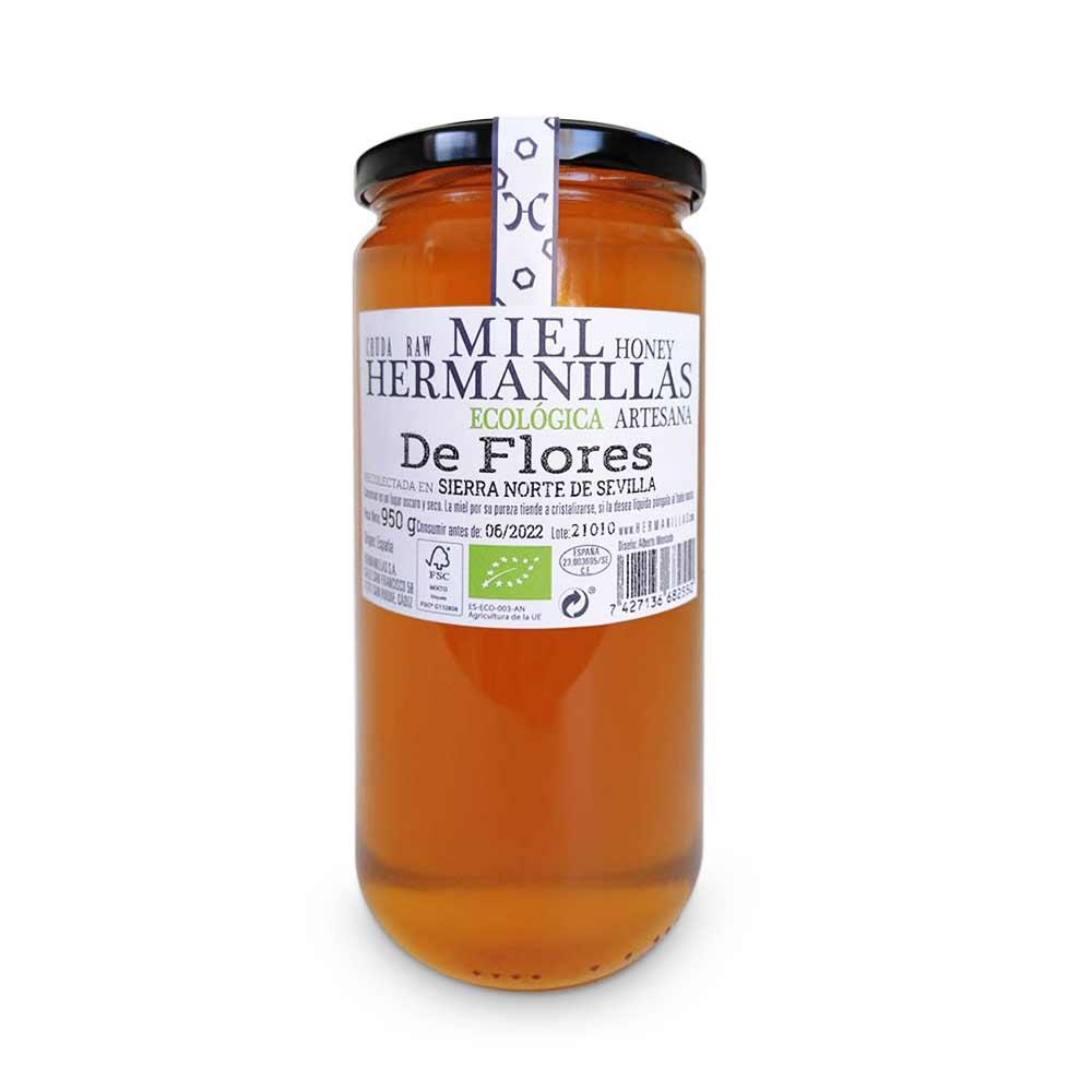 Hermanillas 950 Organic, Raw, Artisan Honey, from Flores Hermanillas