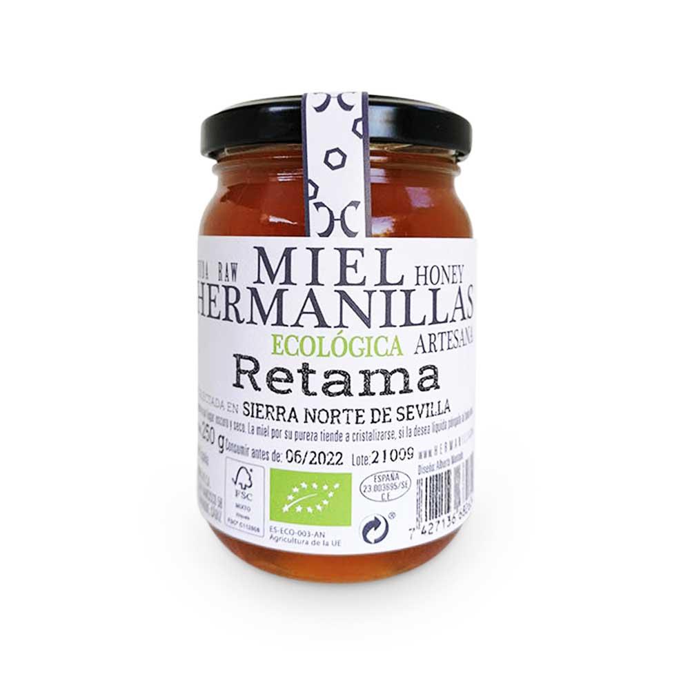 Hermanillas 250 Organic, Raw, Artisan Honey, from Retama Hermanillas
