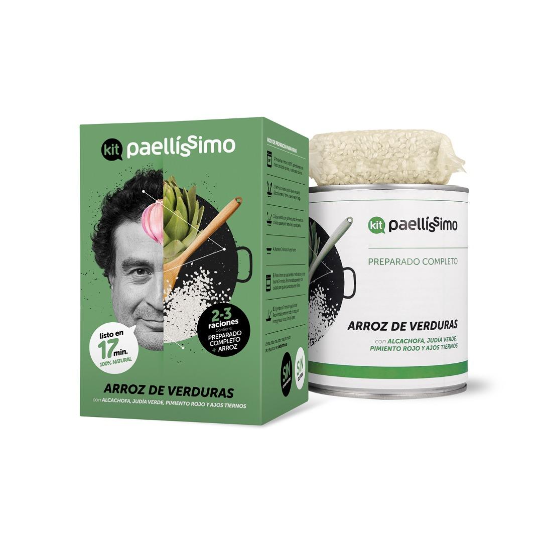 Paellissimo Vegetable Rice Kit