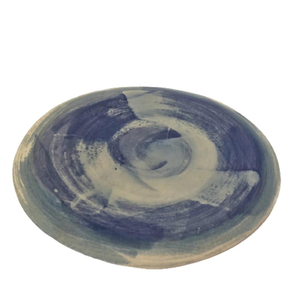 Plato de cerámica TONDO CIELO