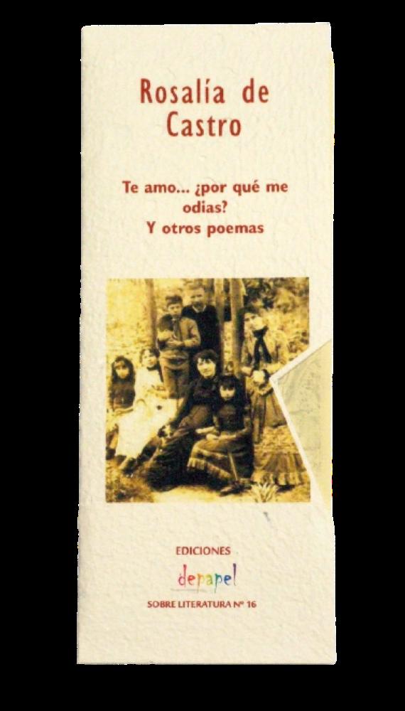 Antología de poemas de Rosalía de Castro.