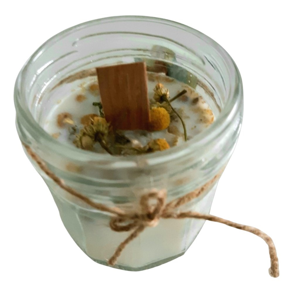 Bambú Soybean and chamomile candle