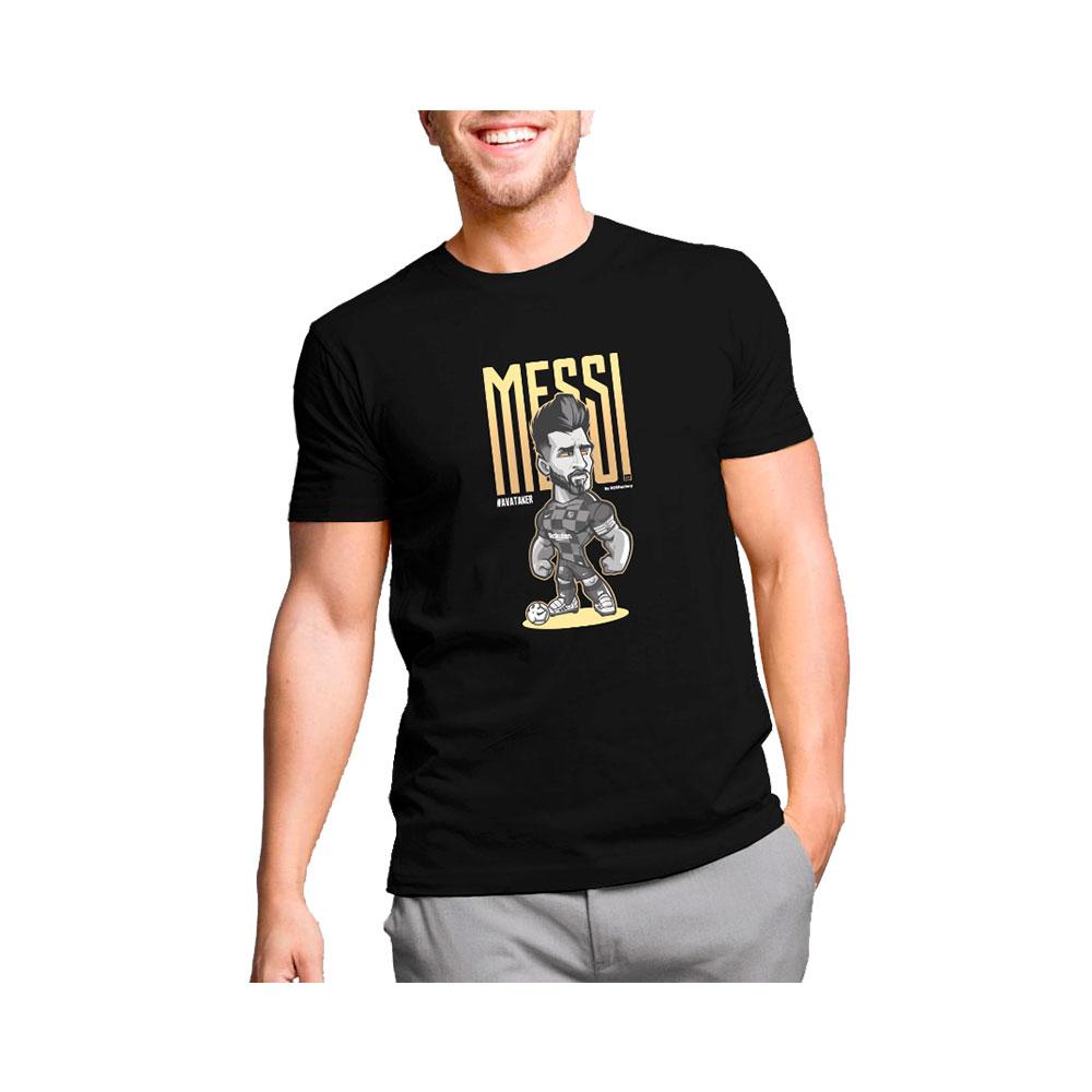 Camiseta Lionel Messi Oro