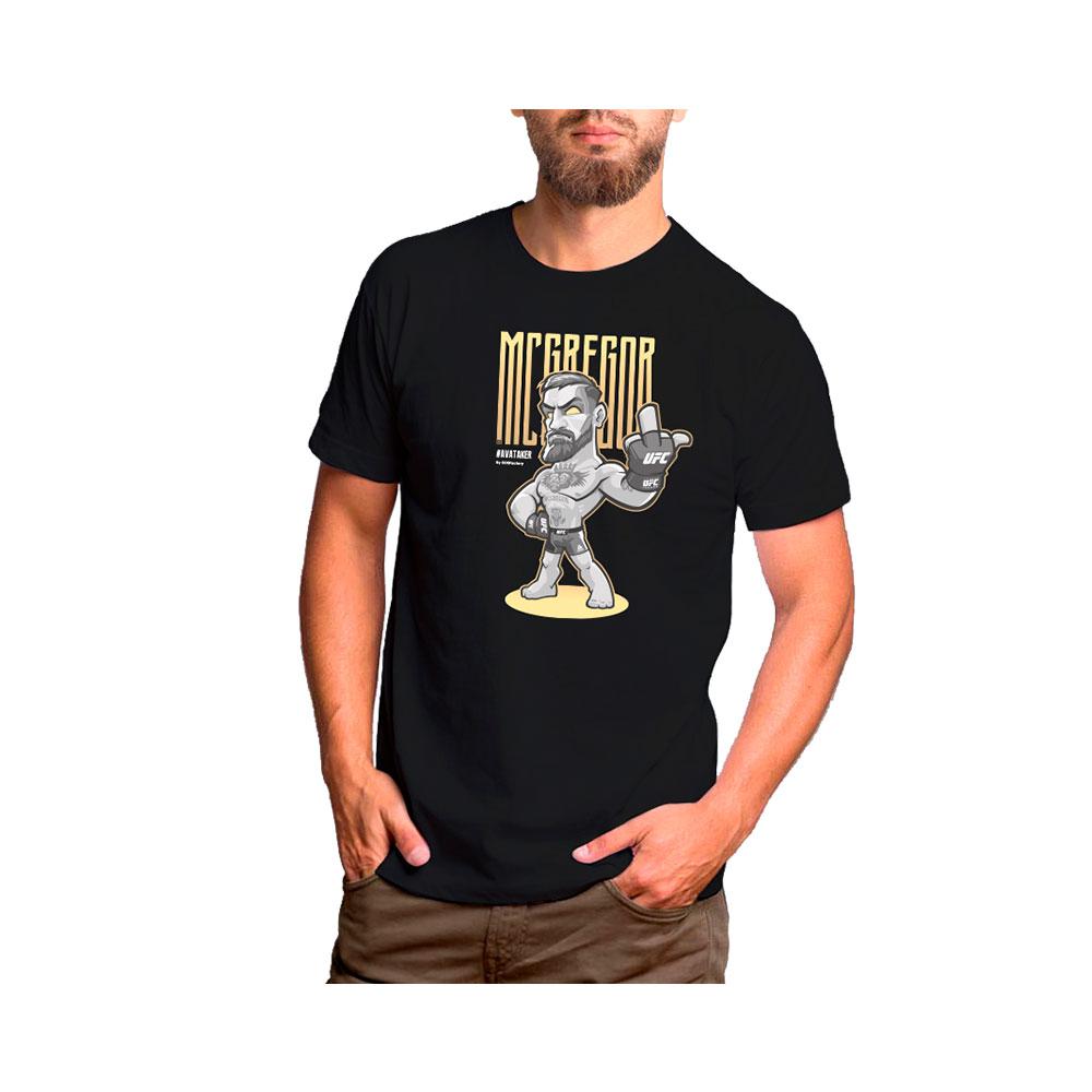 Camiseta Connor McGregor Oro