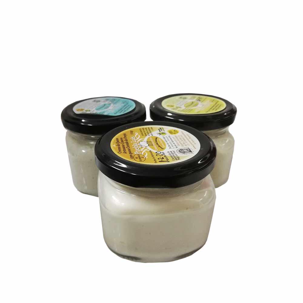 Lote de cremas de untar de las 3 variantes de oveja