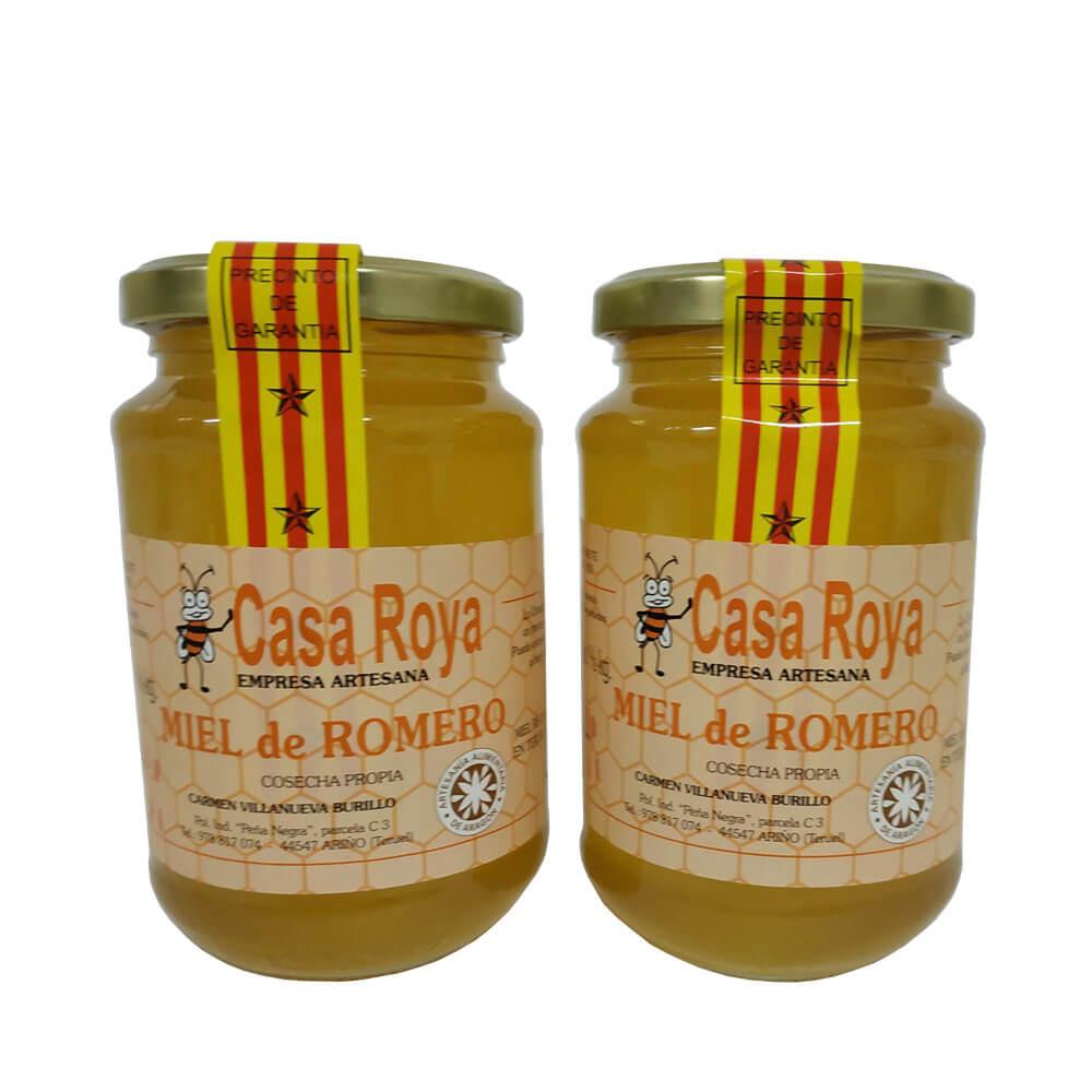 Casa Roya Packs of 2 Jars of Honey Romero(1.2kg)