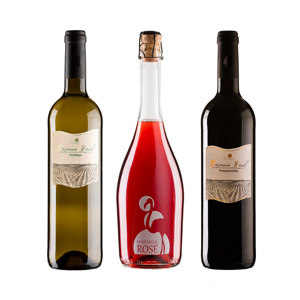 Pack Vinos Manchegos - 3 x 75 cl