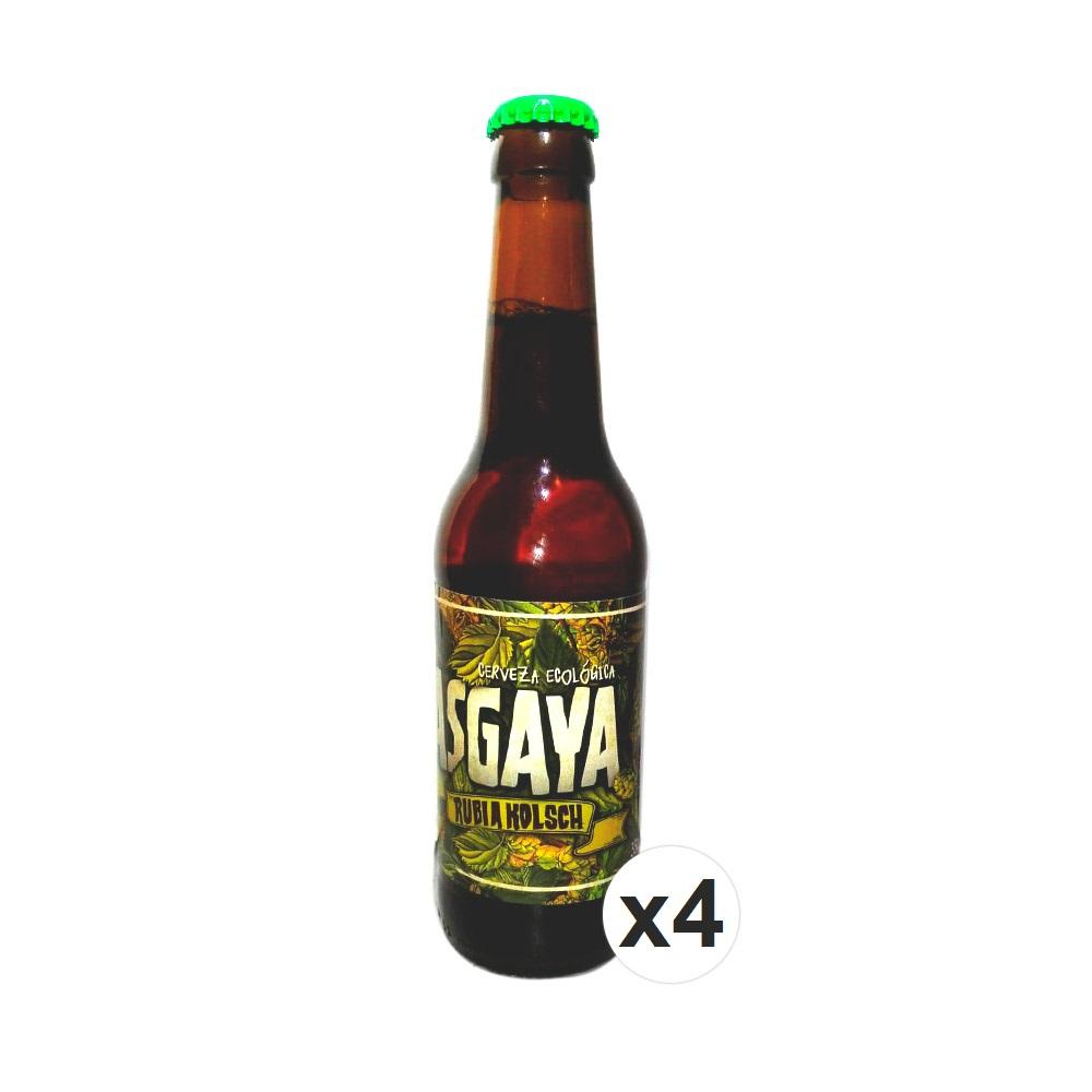 Cerveza Rubia Kölsch ECO - 4 x 33 cl