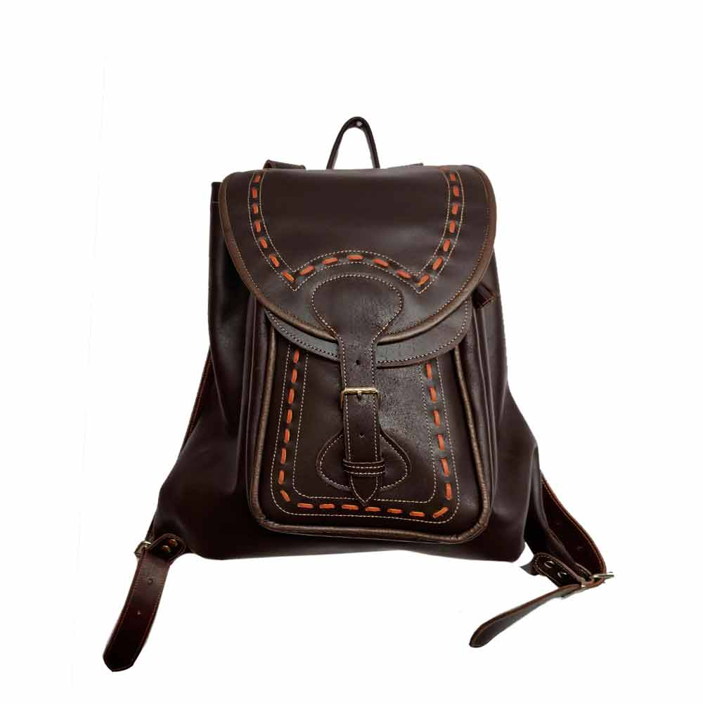 Mabelcuero Taller Artesano Field Backpack - Leather Zurrón