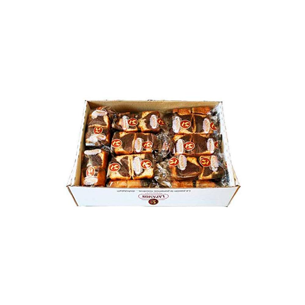 Bizcocho Plum Cake Mármol - Caja 2 kg