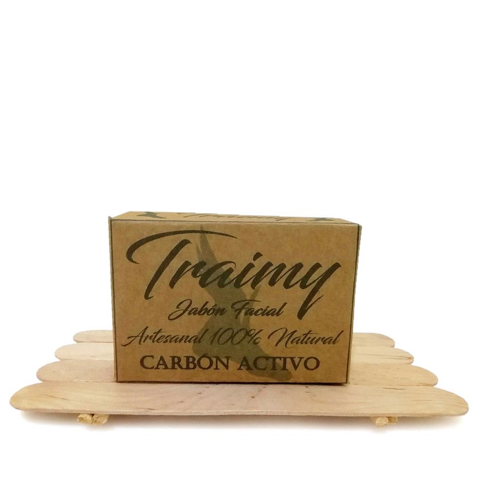 Traimy Packs 3 Jabones Carbon Activo