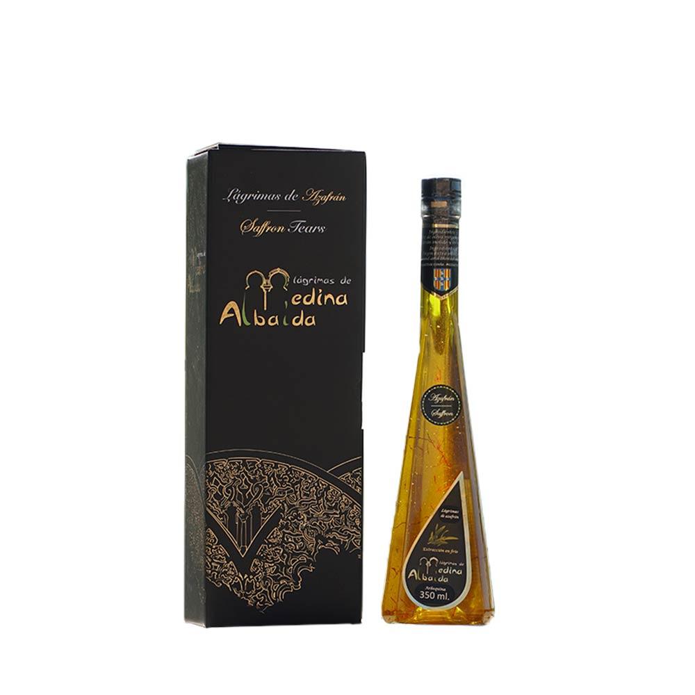 AOVE Lágrimas de Azafrán en Estuche individual - Botella de 350 ml