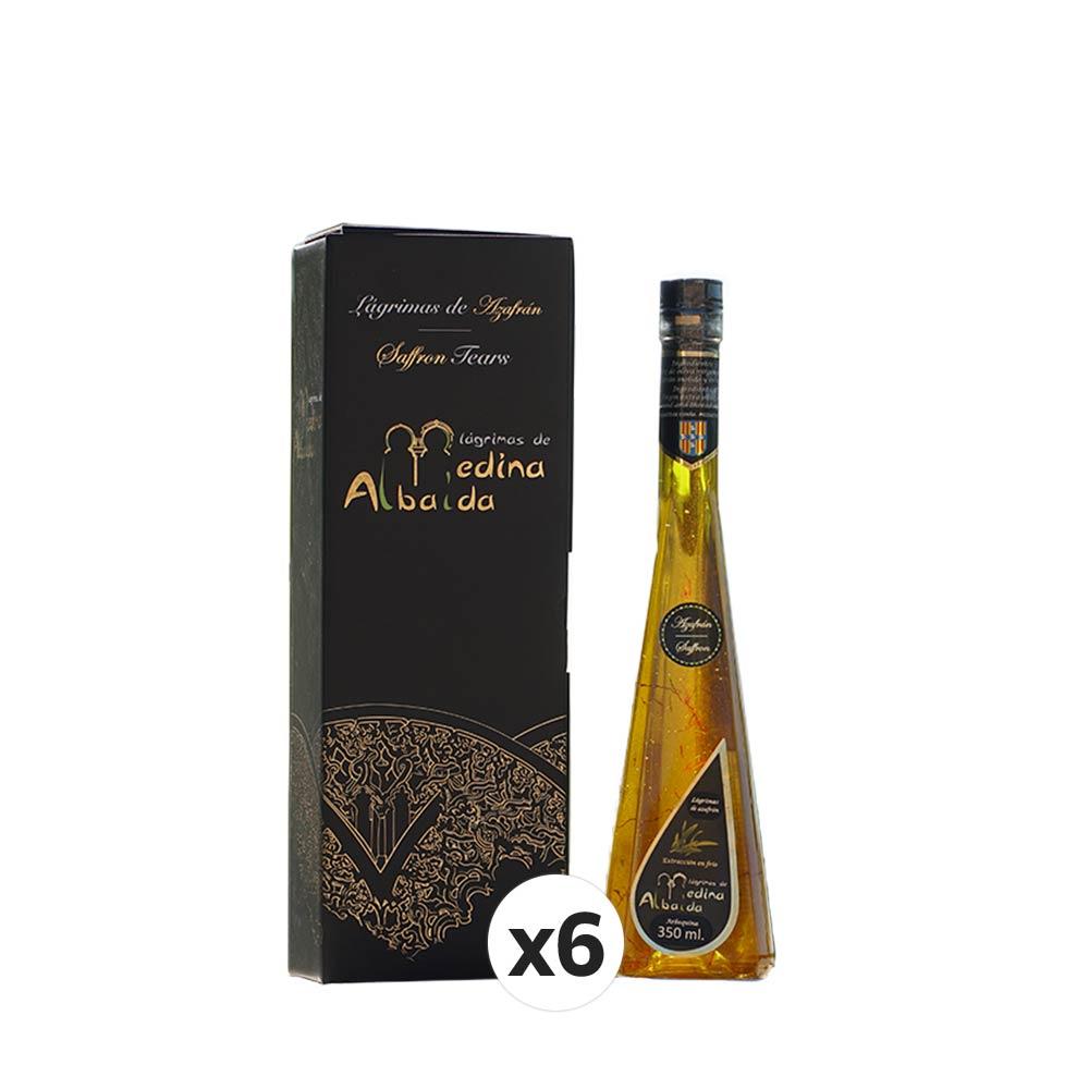 AOVE Lágrimas de Azafrán en Estuche individual - 6 x 350 ml