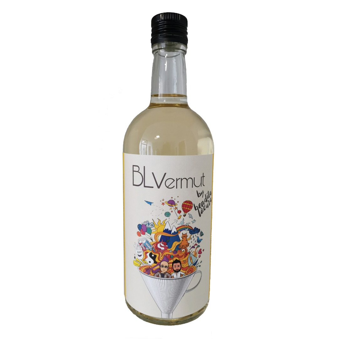 Botella vermut blanco 70 cl