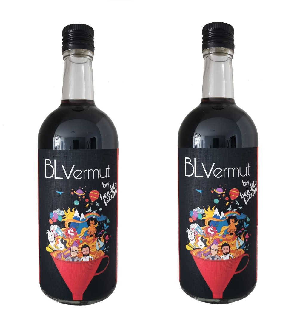 Pack 2 botellas vermut rojo 70 cl