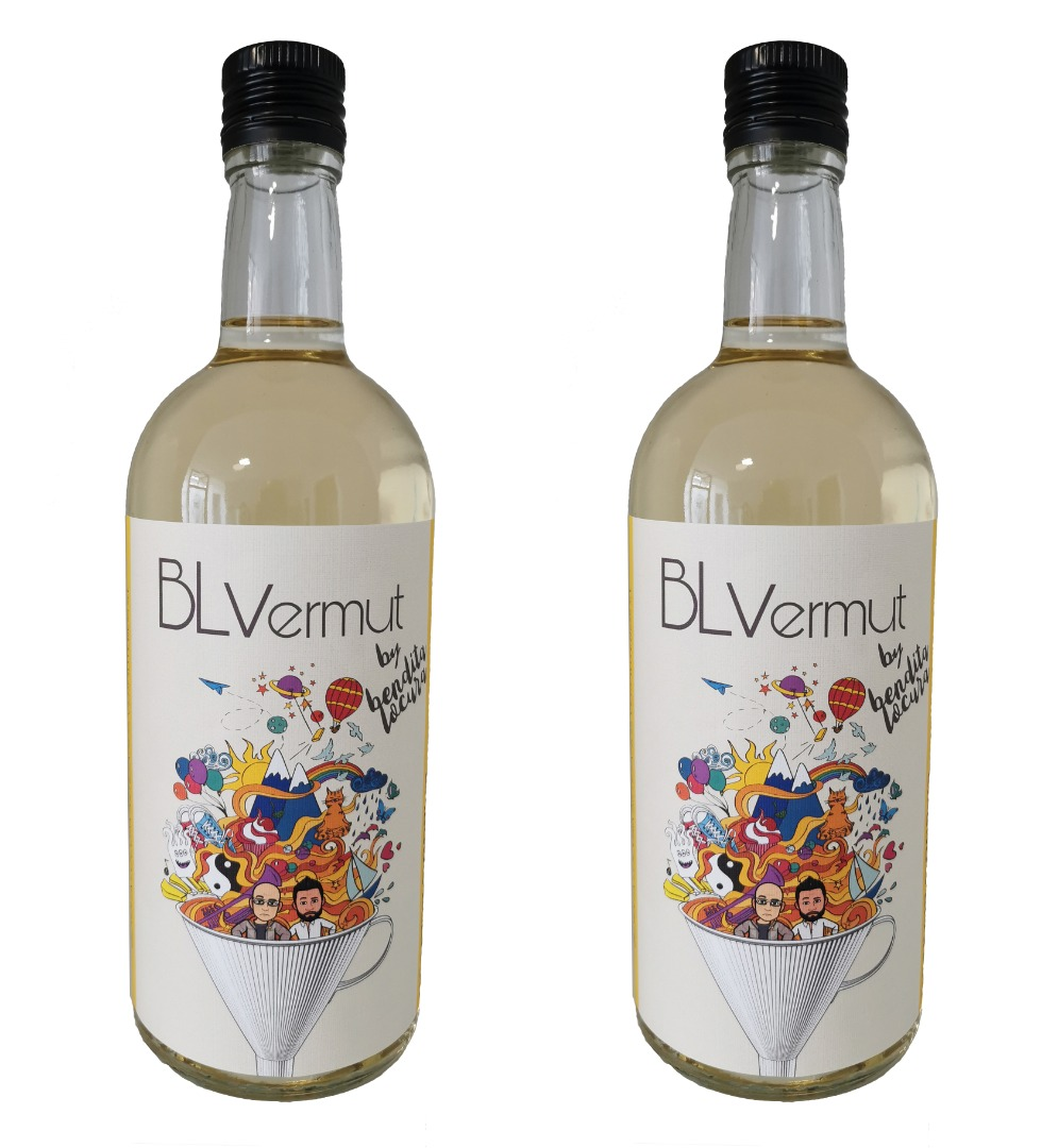 Pack 2 botellas vermut blanco 70 cl