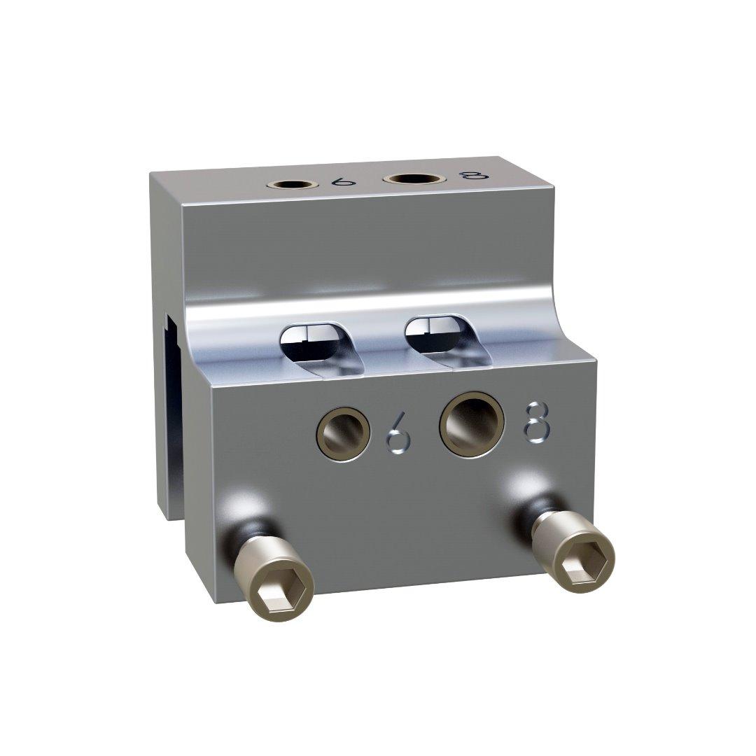 Posicionador de taladros con visor 16 mm