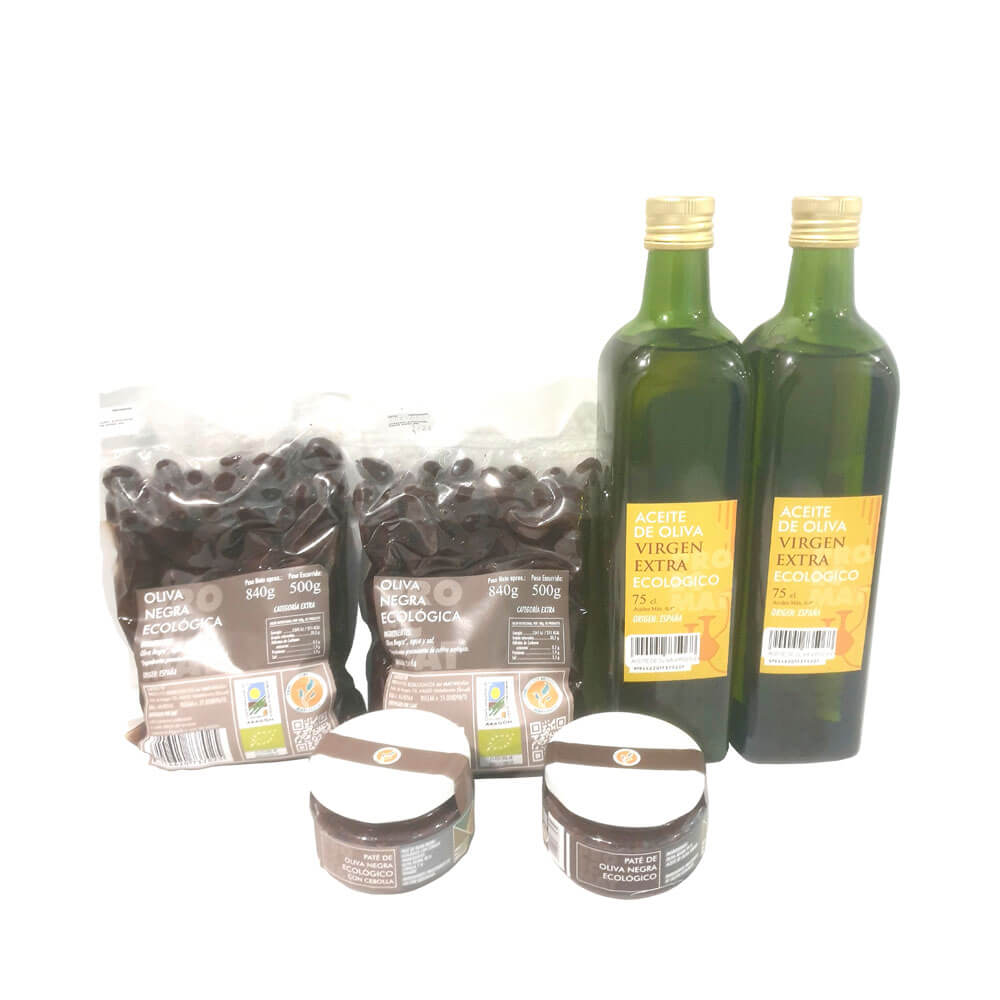 Proemact - Productos Ecológicos de Matarraña Lot Olive Eco Products