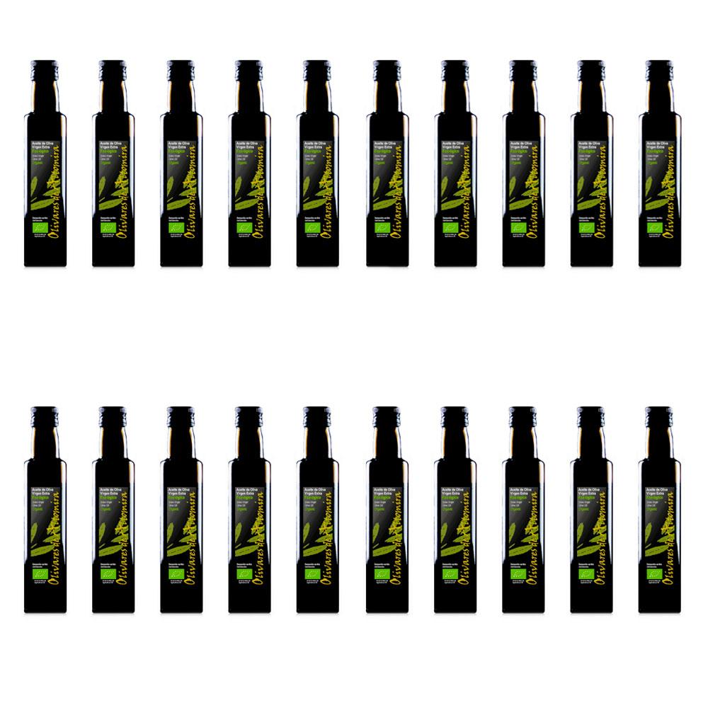 Aceite Oliva Virgen Extra Ecológico - 20 x 250 ml