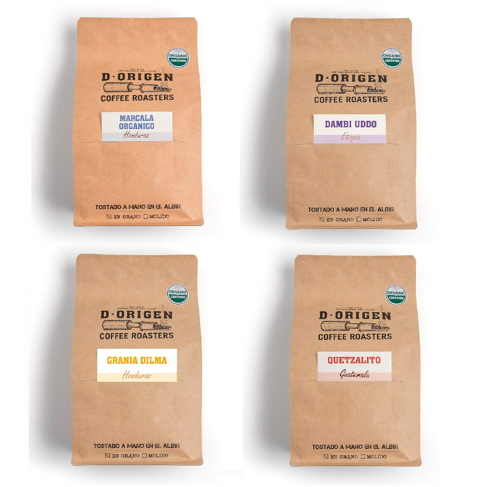Pack Selección Orígenes Únicos Orgánicos - 4 x 340 g