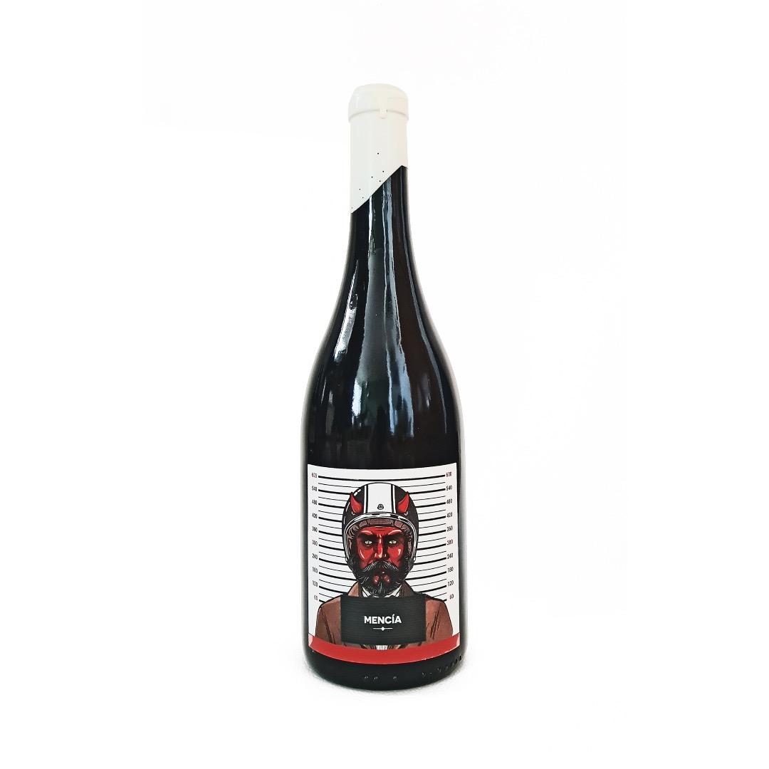 Pekado Mortal Mencía Barrica - Botella de 75 cl