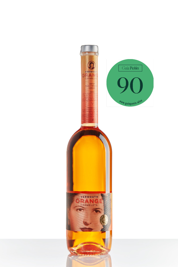 Carmeleta VERMOUTH ORANGE 75cl.
