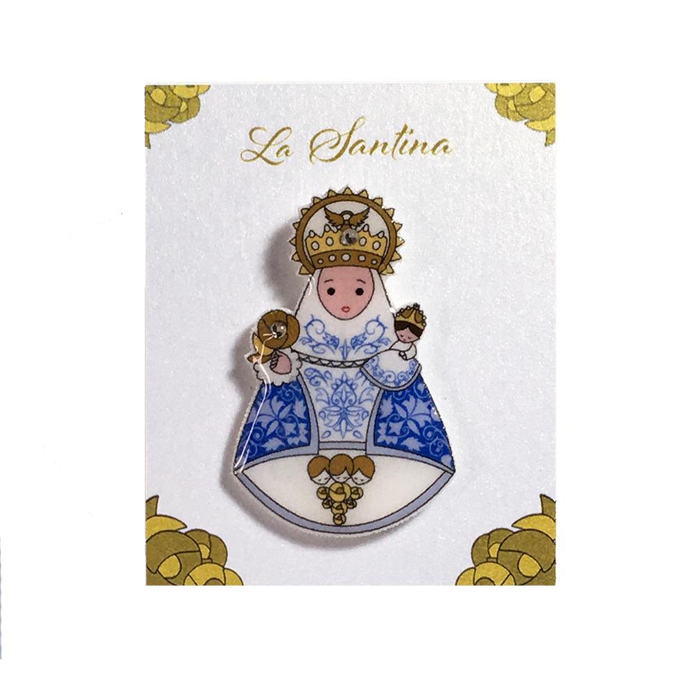 Pin Santina Azul