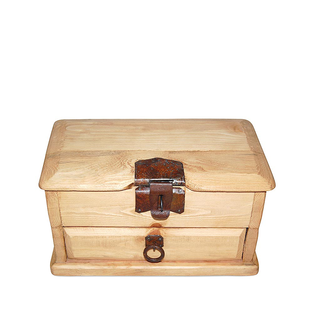 Cofre con cajón