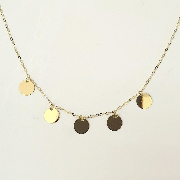 Platissima Gold Necklace Inserts