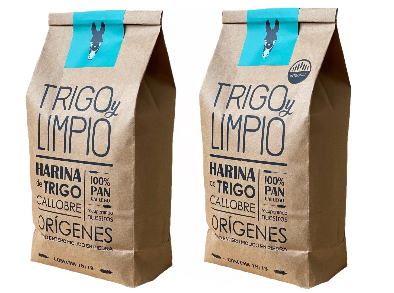 Harina gallega - Lote 2 sacos