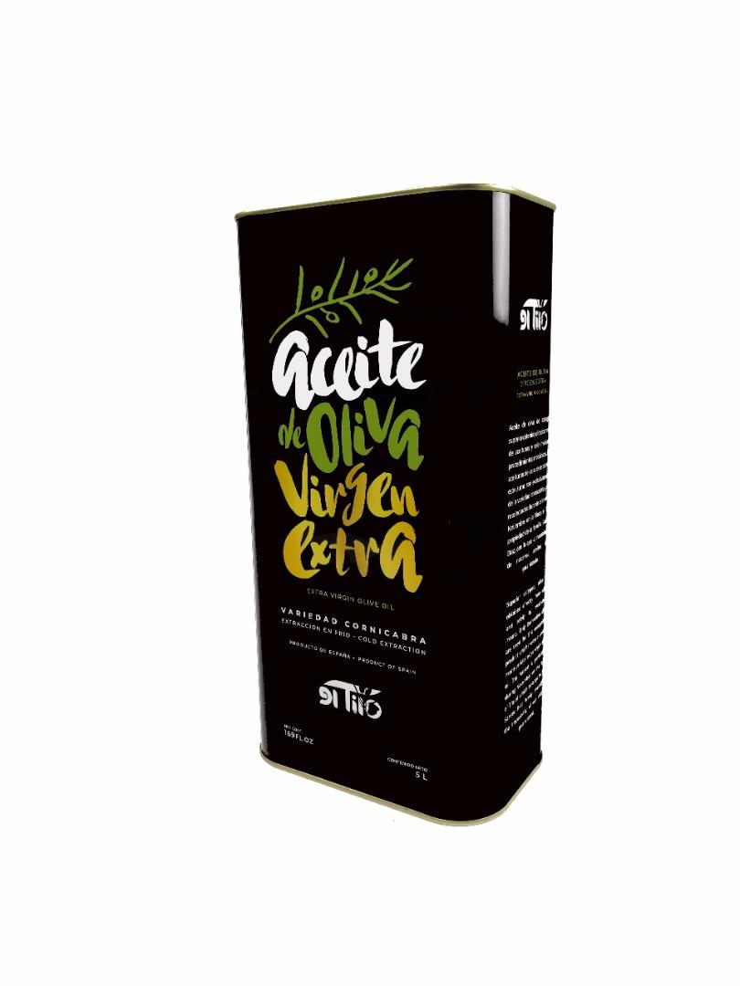 Aceites El Tilo Extra Virgin Oil Can 5 Litres