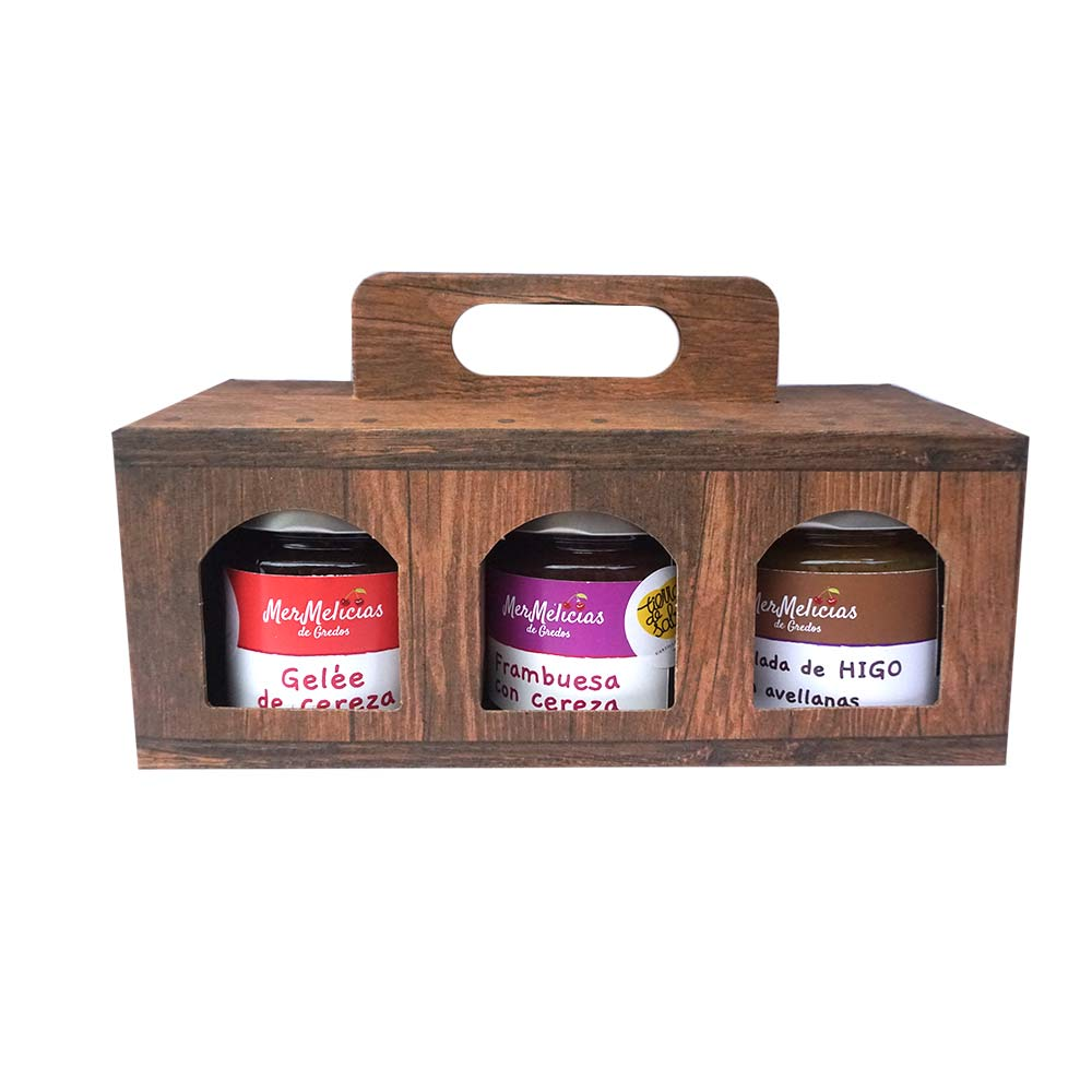 Mermelicias de Gredos Handcrafted jam, boxes of 3 jars of 250g each