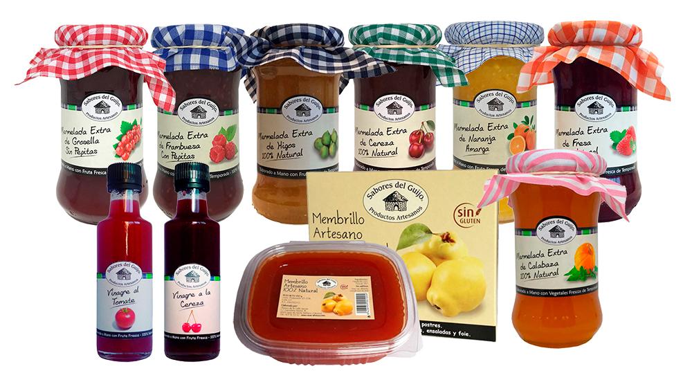 Caja de Productos Gourmet - Mermeladas y Vinagres