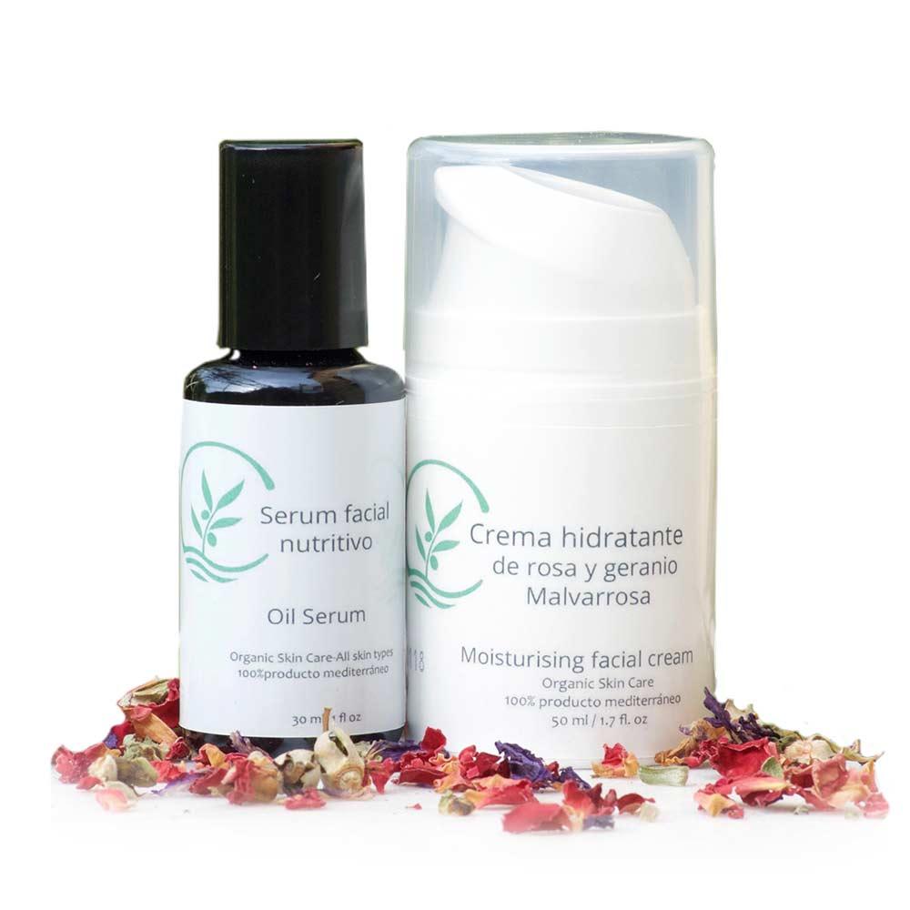 Pack Tratamiento Facial - Crema Hidratante + Sérum Nutritivo