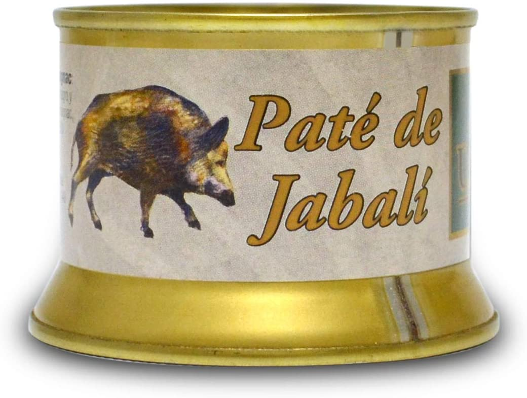 Paté de jabalí trufado al Armagnac Montes Universales