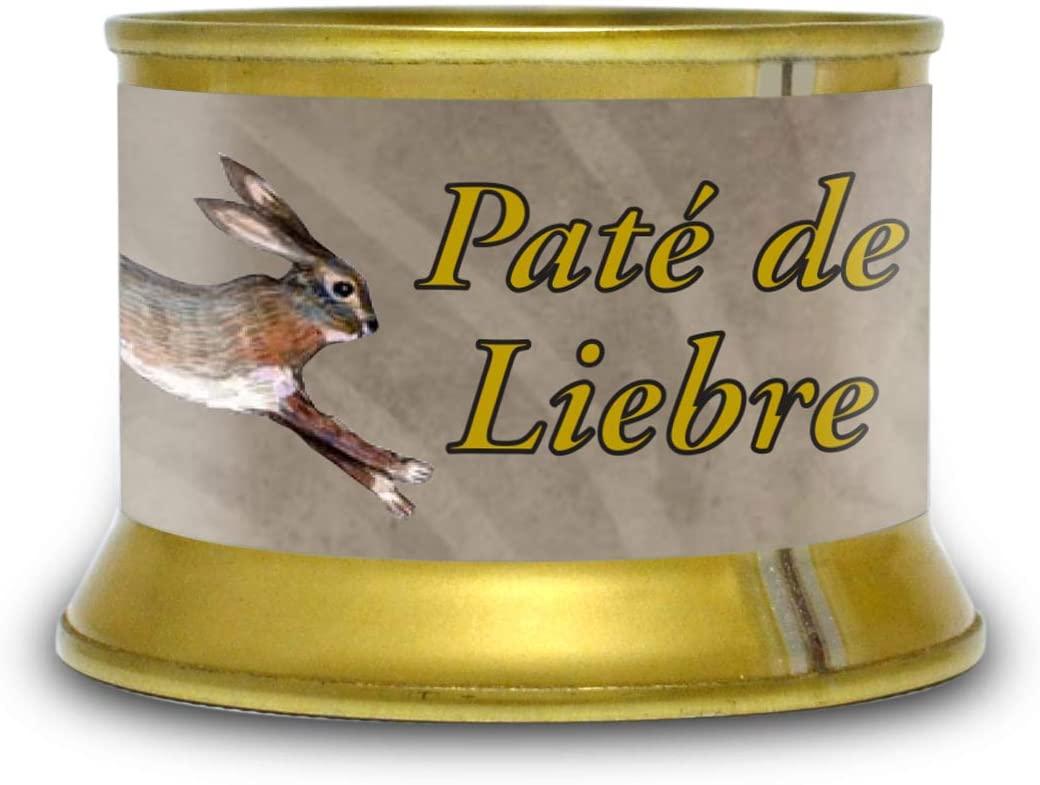 Paté de liebre trufado al Armagnac Montes Universales