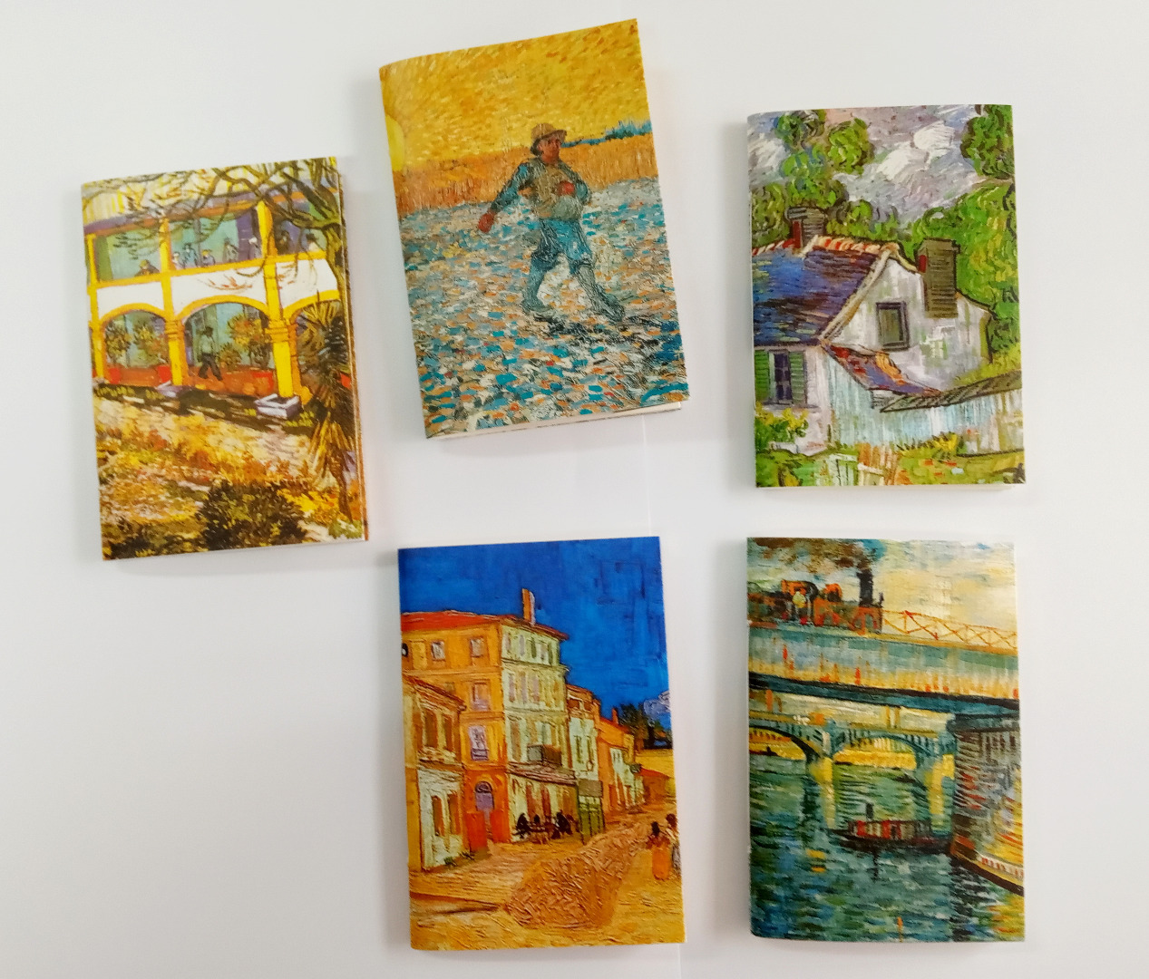 Pack cuadernos cosidos Vincent van Gogh