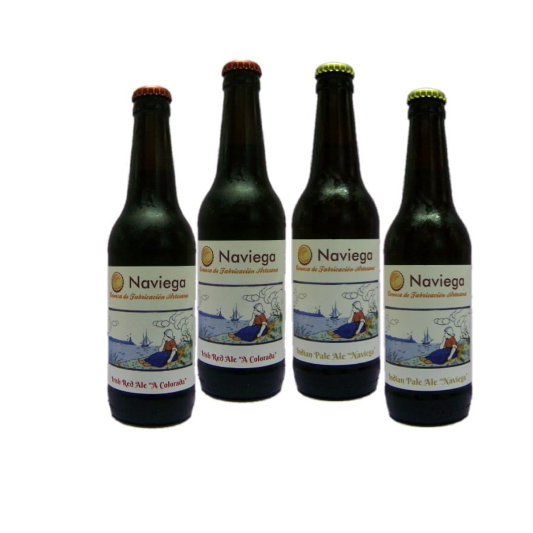 Cerveza Naviega- Pack mixto- 4x33cl