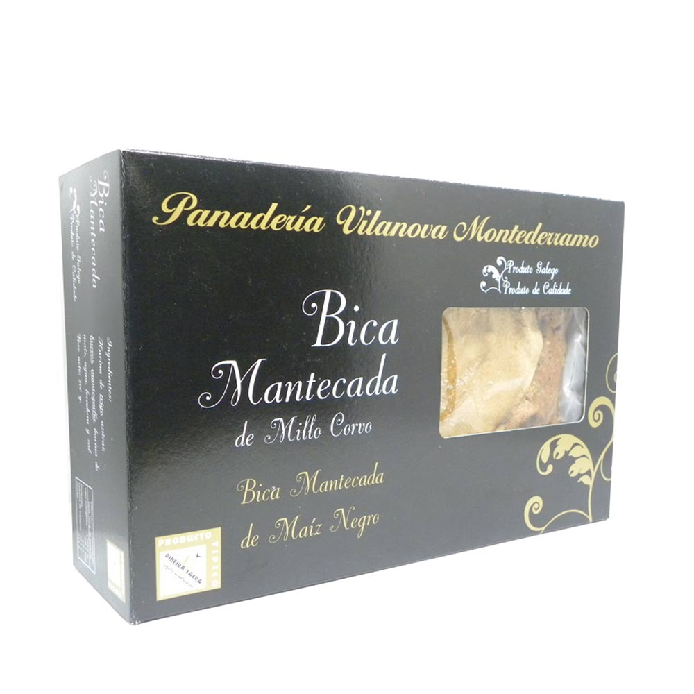 Bica Mantecada de millo corvo - Bica de 500 g