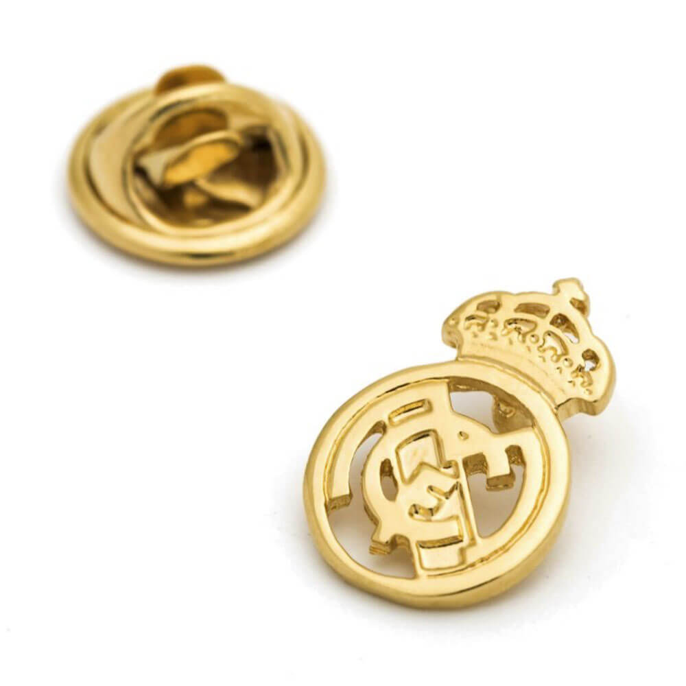 Pin Real Madrid Escudo Calado Plata de Ley