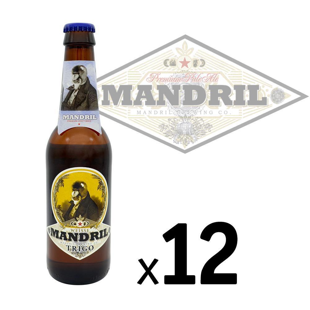 Cerveza Artesana Mandril Weisse (Trigo)