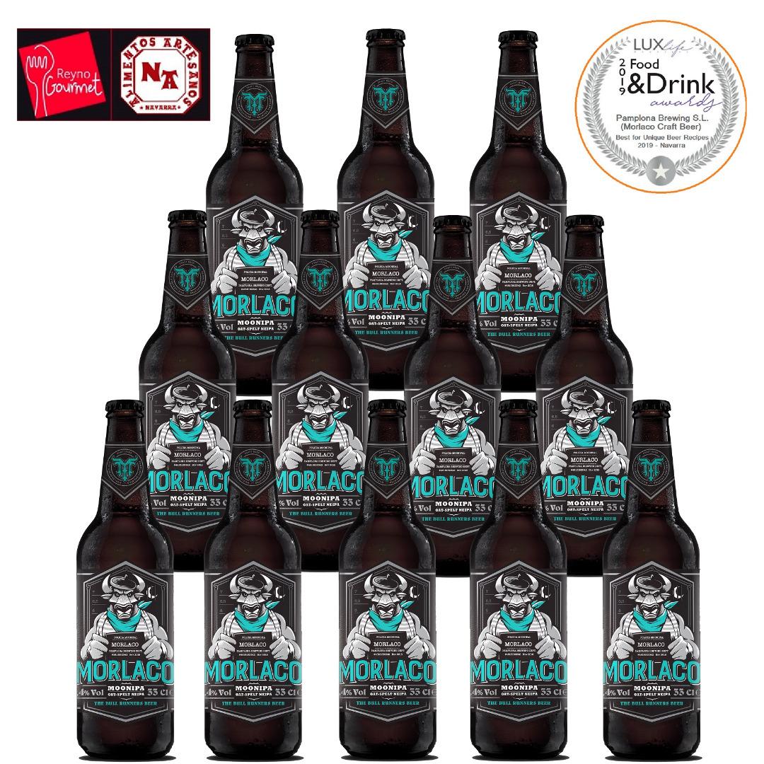 Cerveza Moonipa 12x33cl