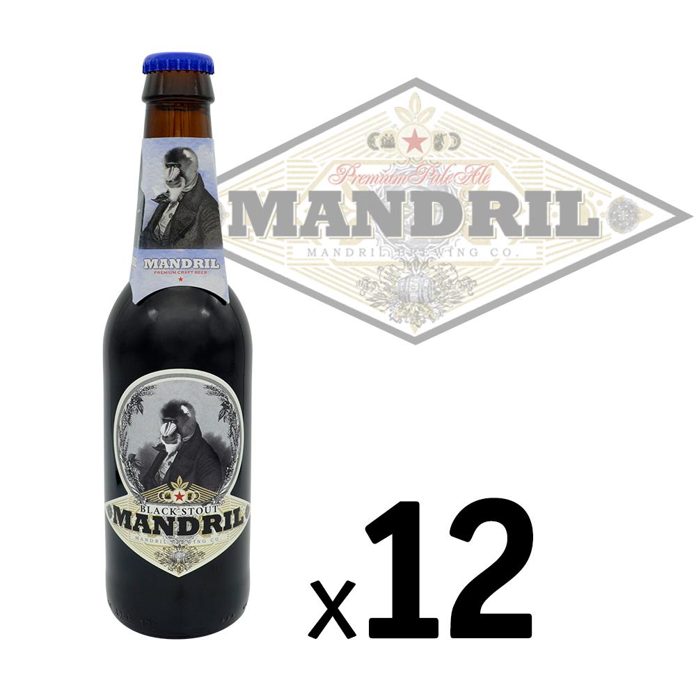 Cerveza Artesana Mandril Black Stout