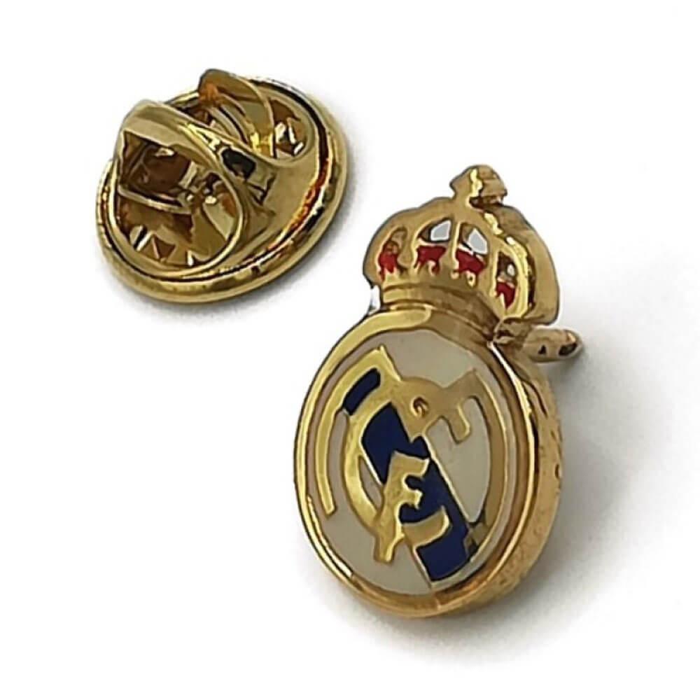 Pin Real Madrid Escudo Esmalte