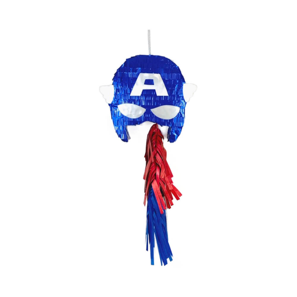 Piñata emoticono Capitán América