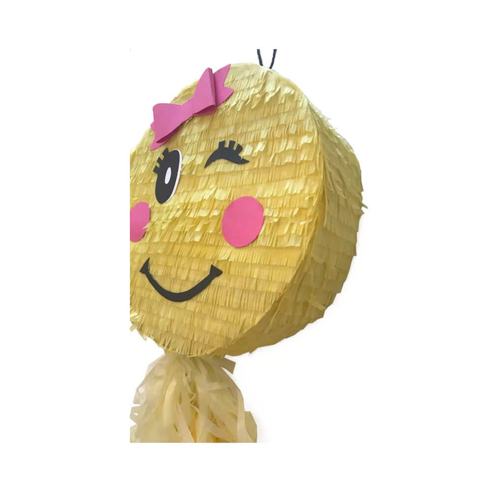 Piñata emoticono guiño