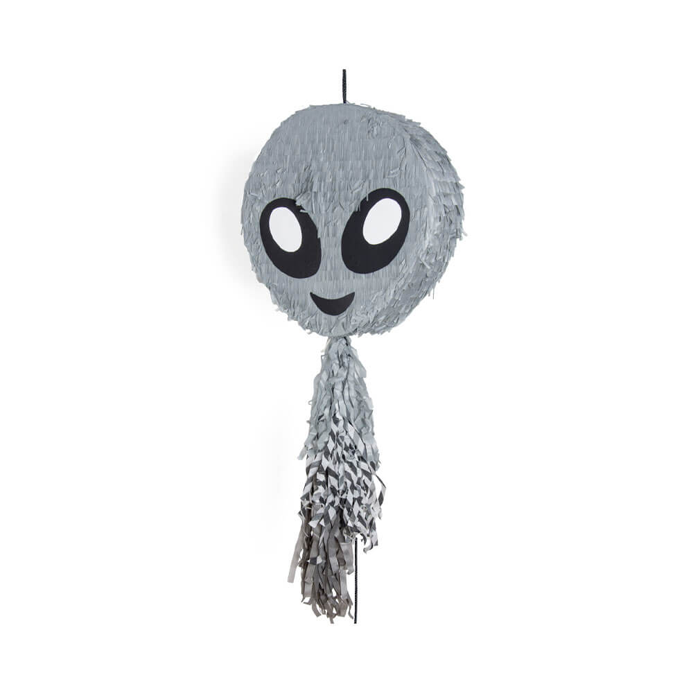 Piñata emoticono alien