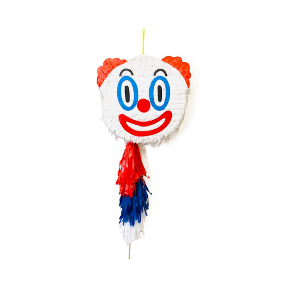 Piñata emoticono payaso